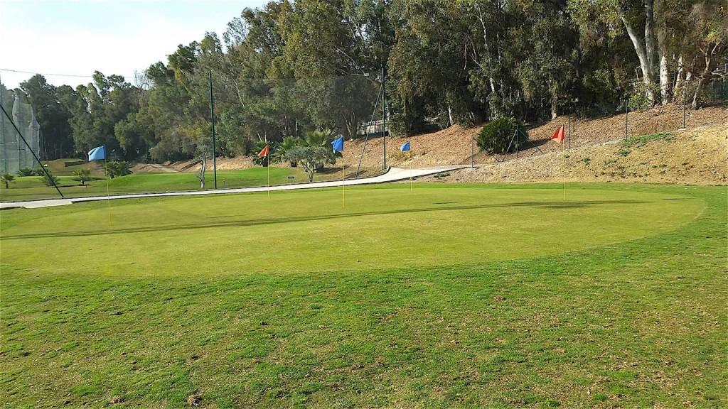 Miguel Angel Jimenez Golf practice zones