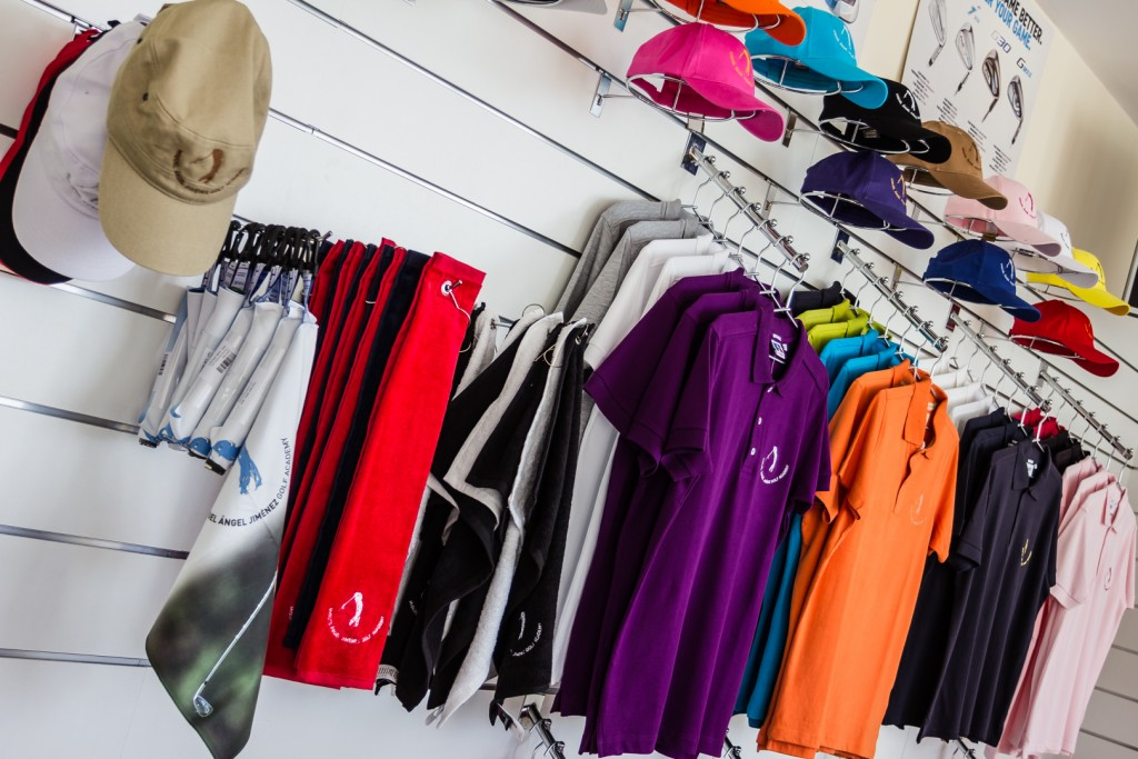 tienda de golf Miguel Angel Jimenez - pro golf store