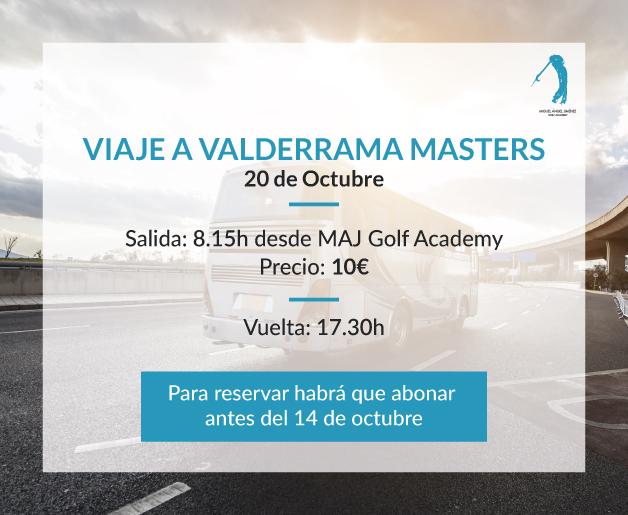 VIAJE AL VALDERRAMA MASTERS
