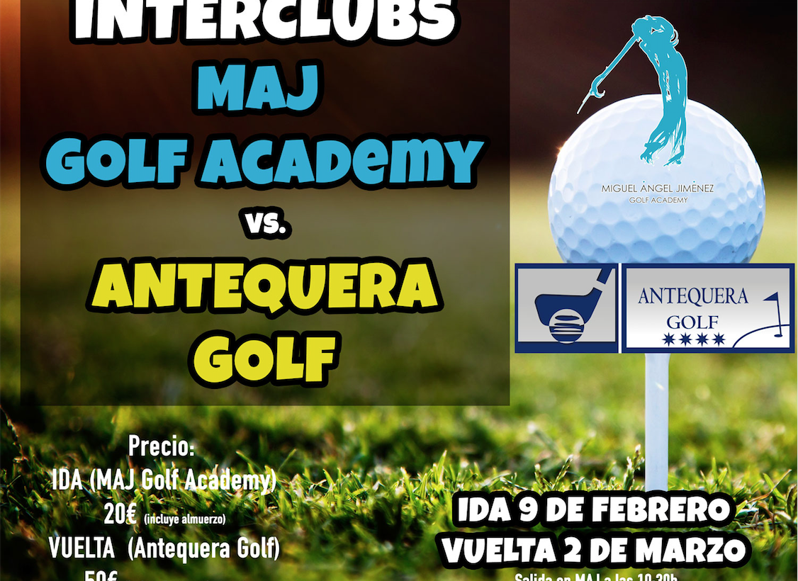 Interclubs Antequera Golf vs MAJ