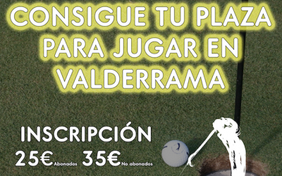 II Match-Play Race to VALDERRAMA