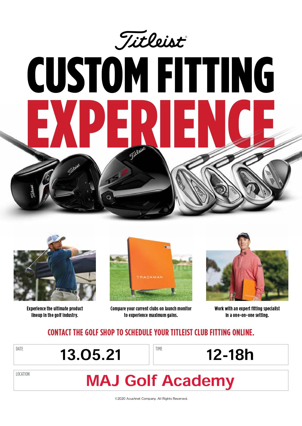 Fitting Titleist Golf